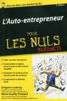 Auto-entrepreneur pour les Nuls, édition poche, 3ème édition