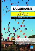 La Lorraine pour les Nuls poche