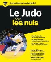 Le Judo pour les Nuls grand format