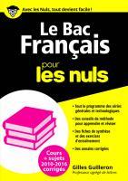 Le Bac Français 2016 pour les Nuls