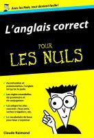 L'anglais correct Poche pour les Nuls