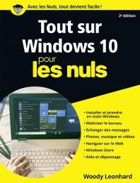 Tout sur  Windows 10 pour les Nuls, 2e édition