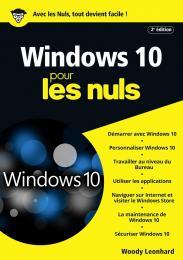 Windows 10 pour les Nuls mégapoche, 2e édition