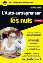 L'Auto-entrepreneur pour les Nuls, poche, 4e édition