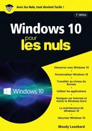 Windows 10 pour les Nuls, mégapoche, 3e édition