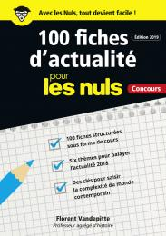 100 fiches d'actualité pour les Nuls