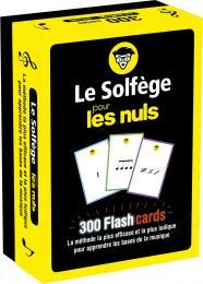 Flashcards Le solfège pour les Nuls