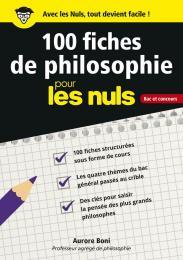 100 fiches de philosophie pour les Nuls CONCOURS