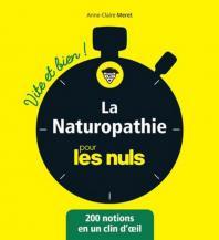 La naturopathie pour les Nuls vite et bien