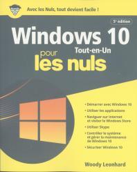 Windows 10 Tout en 1 pour les Nuls, 5e éd., grand format