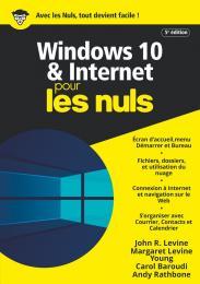 Windows 10 et Internet pour les Nuls, mégapoche, 5e éd.