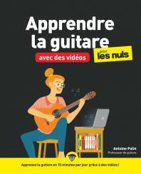 Apprendre la guitare avec des vidéos pour les Nuls mégapoche