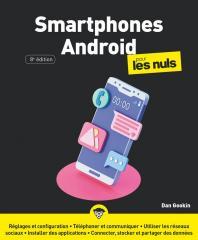 Smartphones Android pour les Nuls, grand format, 8e éd.