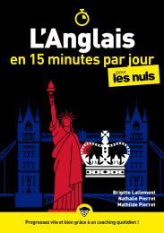 L'anglais en 15 minutes par jour pour les Nuls, mégapoche