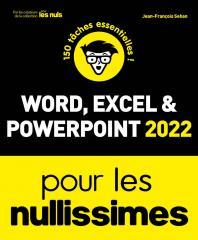 Word, Excel, PowerPoint 2021 pour les Nullissimes
