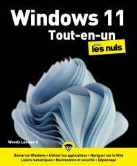 Windows 11 Tout-en-un pour les Nuls