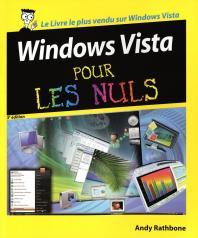Windows Vista 3e Pour les nuls