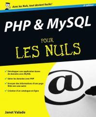 PHP et MySQL 5e Pour les Nuls