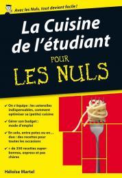 La Cuisine de l'étudiant pour les Nuls poche