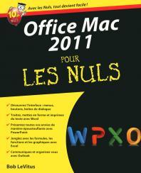 Office 2011 Mac Pour les nuls