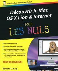 Découvrir le Mac OS X Lion et Internet Pour les nuls