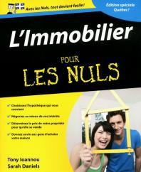 L'Immobilier pour les Nuls, édition québécoise