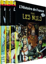 Coffret Histoire de France en BD (tome 1 à 3) pour les Nuls