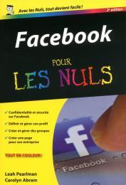 Facebook 2e Poche pour les Nuls