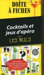 Boîte à fiches Cocktails et Jeux d'Apéro Pour les Nuls