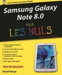 Samsung Galaxy Note 8.0 pour les Nuls