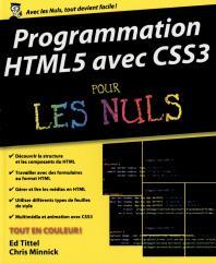 Programmation HTML5 avec CSS3 Pour les Nuls