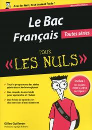 Bac Français 2015 pour les Nuls