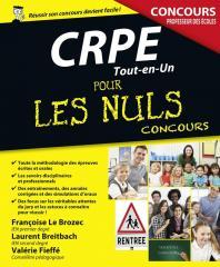 CRPE Tout-en-Un pour les Nuls Concours, nouvelle édition