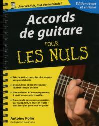 Accords de guitare pour les Nuls, édition augmentée