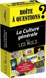 Boîte à questions - La Culture générale pour les Nuls, 3e