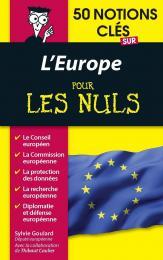 50 notions clés sur l'Europe pour les Nuls