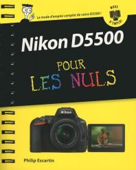 Nikon D5500 Mode d'emploi pour les Nuls