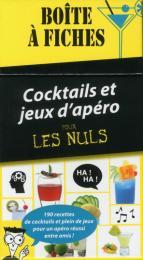 Boite à fiches cocktails et jeux d'apéro pour les Nuls, 3e édition
