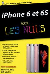 iPhone 6 et 6S pour les Nuls poche