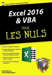 Excel 2016 et VBA pour les Nuls mégapoche