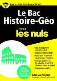 Le Bac Histoire Géo 2016 pour les Nuls