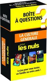 Boîte à questions La Culture générale pour les Nuls, éd 2016