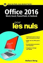 Office 2016 pour les Nuls poche