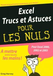 Excel 2002 et 2003 Trucs et Astuces MegaPoche Pour les Nuls