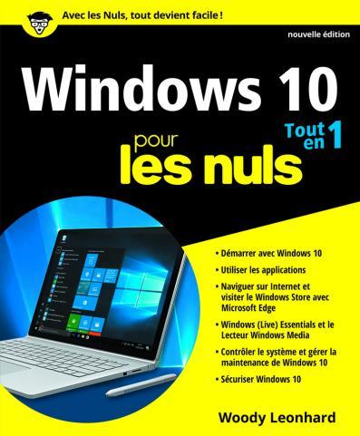 Windows 10 pour les Nuls Tout en 1, 2e édition