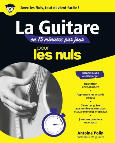 La guitare en 15 minutes par jour pour les Nuls, mégapoche