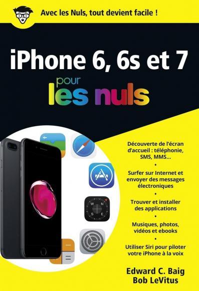 iPhone  6, 6s et 7 pour les Nuls poche