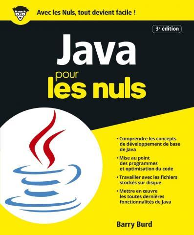 Java pour les Nuls grand format, 3e édition