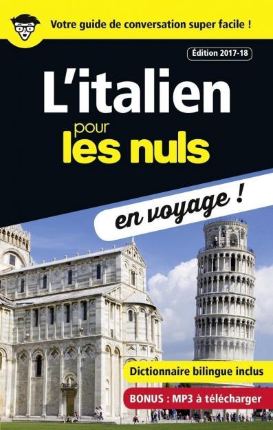 L'italien pour les Nuls en voyage, édition 2017-18