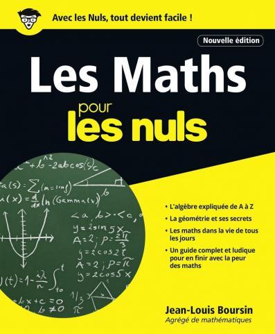 Les Maths pour les Nuls grand format, 2e édition